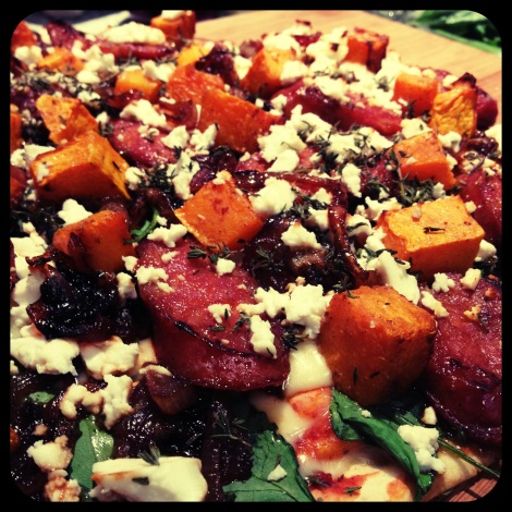 pumpkin and feta